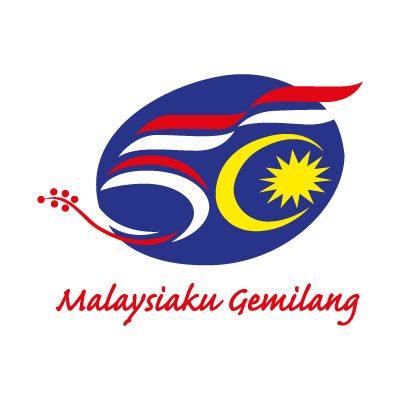 50 Years Malaysia logo