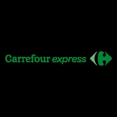 Carrefour Express logo vector