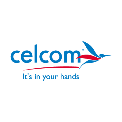 Celcom vector logo