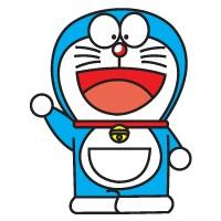 Doraemon logo vector free download