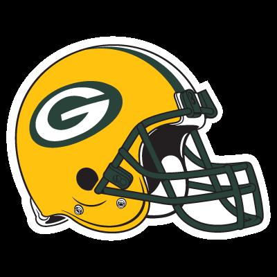 Green Bay Packers and Helmet vector