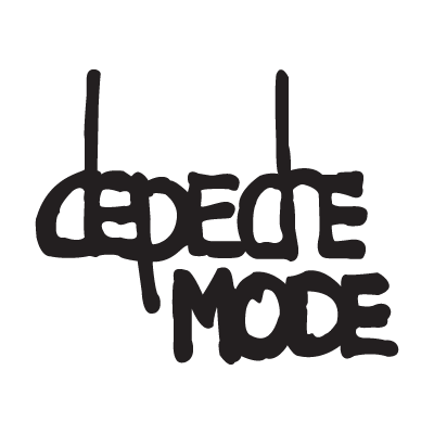 Depeche Mode logo vector