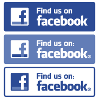 Find us on Facebook vector download free