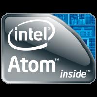 Intel Atom logo vector free download