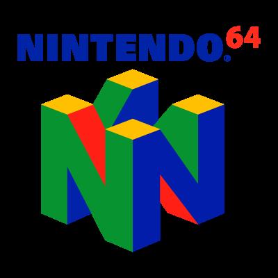 Nintendo 64 logo vector
