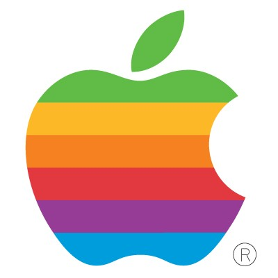Old Apple Computer logo vector in .AI format