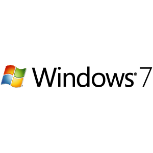 Windows 7 logo vector