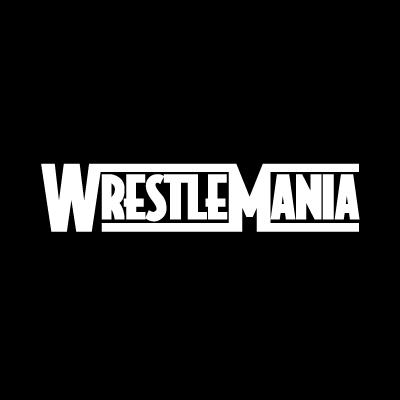 WWF WrestleMania logo vector