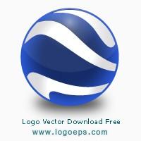 Google Earth logo vector free download