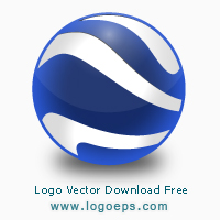 Google Earth logo, logo of Google Earth, download Google Earth logo, Google Earth, vector logo