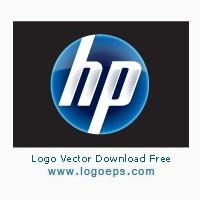 New HP logo vector free download
