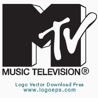 MTV logo vector download free