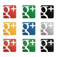 Google Plus Icon Pack logo vector free