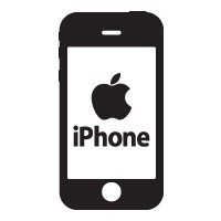 Iphone logo vector