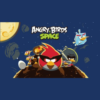Angry Birds Space logo vector