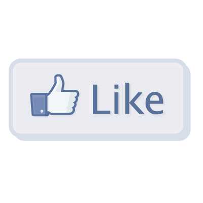 Facebook Like Button vector