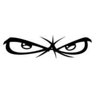 No Fear Eyes logo vector free