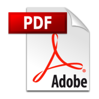 Adobe PDF icon vector