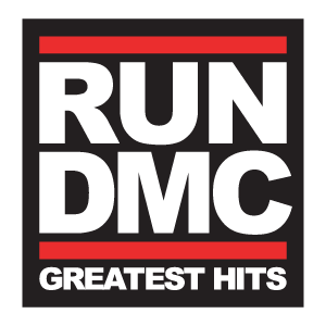 Run DMC logo vector