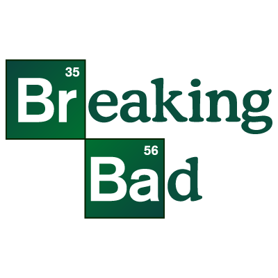 Breaking Bad TV series vector logo
