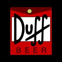 Duff Beer logo vector free download