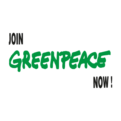 GreenPeace logo vector