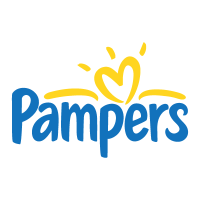 Pampers logo vector