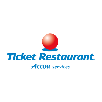 Ticket Restaurant vector logo
