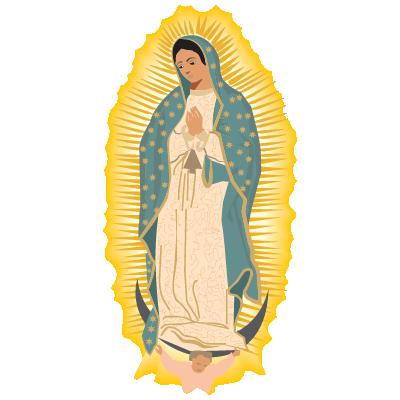Virgen de Guadalupe logo