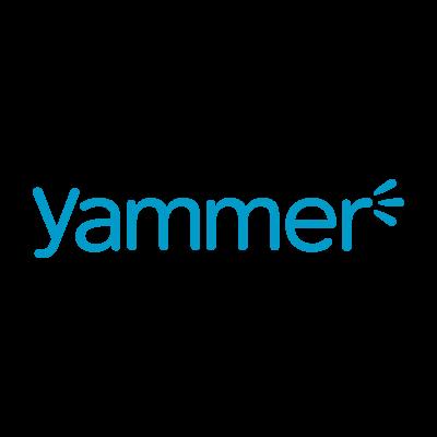 Yammer logo vector