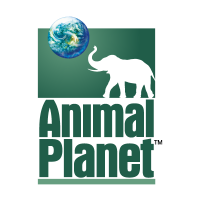 Animal Planet TV vector logo free