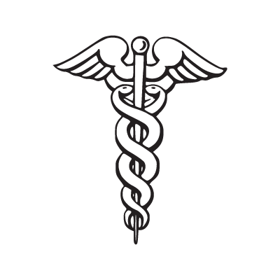 Caduceu logo vector