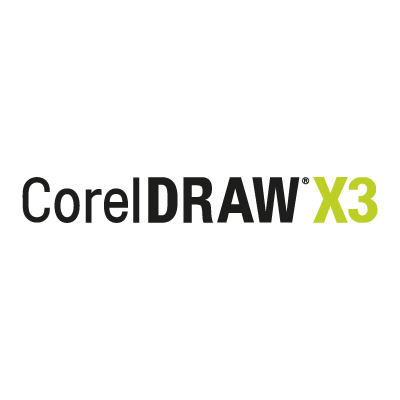 Corel Draw X3 vector logo