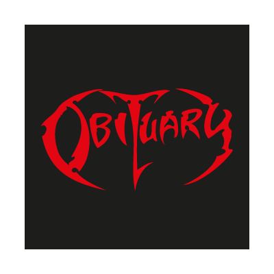 Obituary vector logo