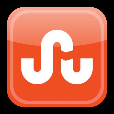Stumbleupon icon vector