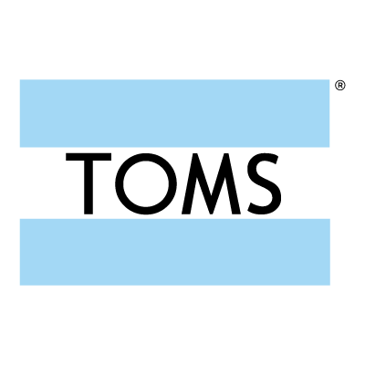 Toms shoes logo vector