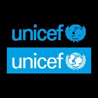 Unicef cyan vector logo free