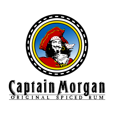 Captain Morgan Rum vector logo