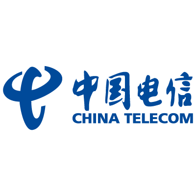 China Telecom logo vector