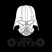 Darth Vader logo vector free