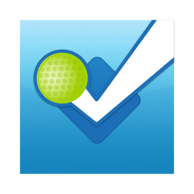 Foursquare button logo