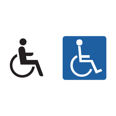Handicap Sign logo