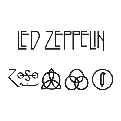 Led Zeppelin vector logo
