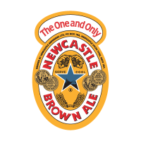 Newcastle Brown Ale logo vector free