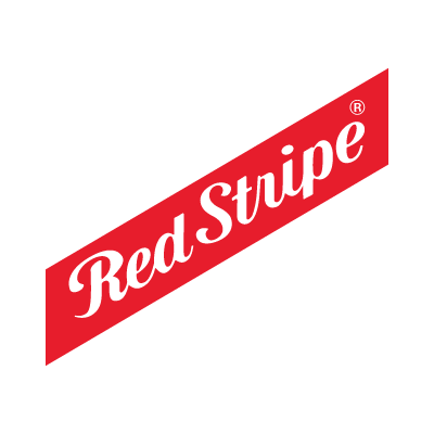 Red Stripe logo vector