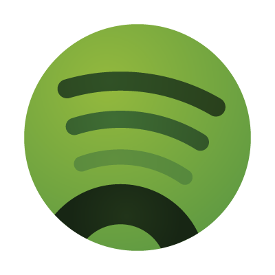 Spotify icon vector