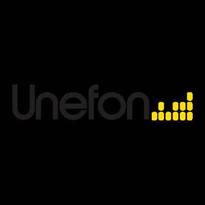 Unefón logo vector