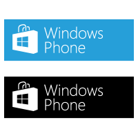 Windows Phone Store vector download free