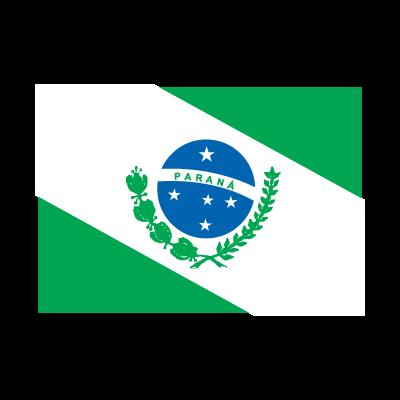 Flag of Bandeira Paraná vector