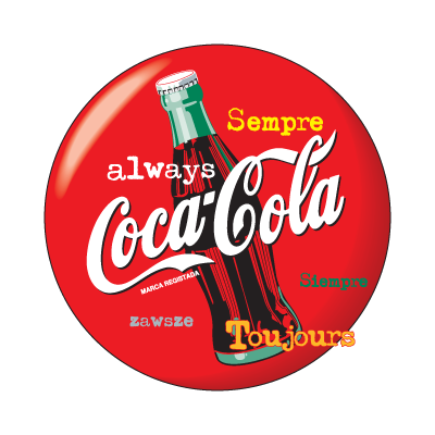 Always Coca-Cola logo vector